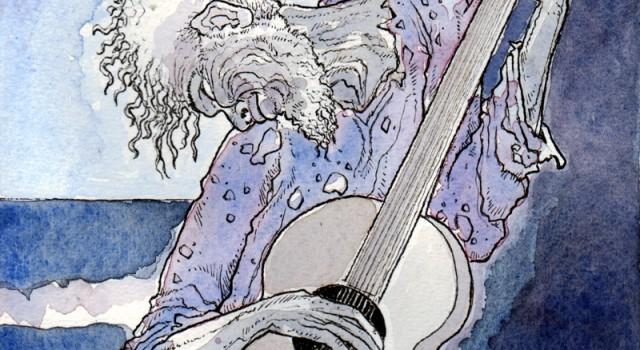 vecchio chitarrista
