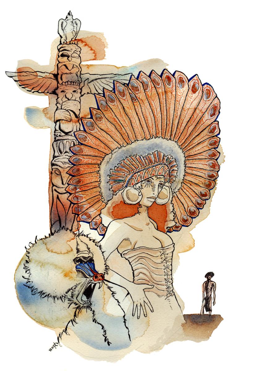popolazioni-continenti-america-indiani-illustration-fabio-delvo