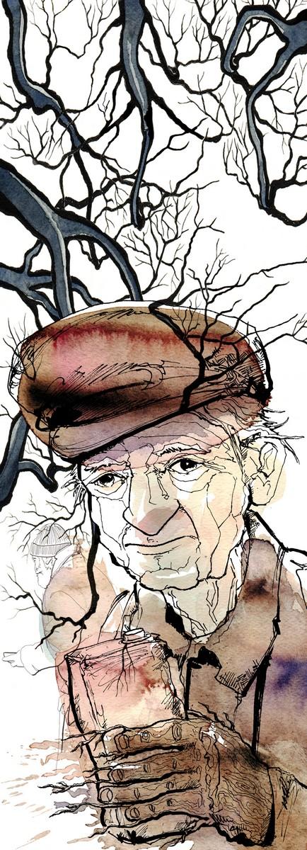 Uomini-Albero-Mauro-Covacich-La Lettura-Corriere della Sera-07 febbraio 2016-illustration-fabio-delvo