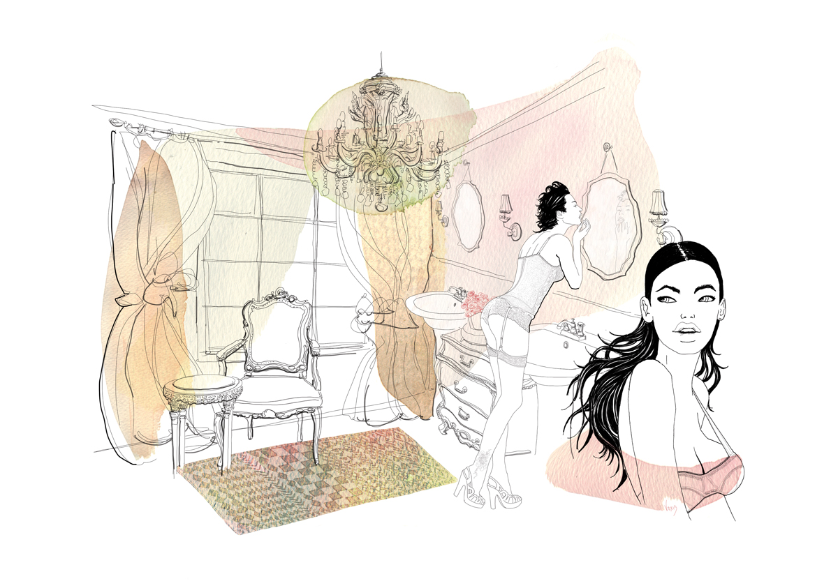 fashion-interni-design-arredo-bagno-illustration-fabio-delvo