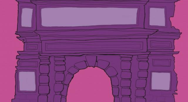 contest-proposta-poster-metropolitana-porta romana-milano-vita sulla porta-illustration-fabio delvo