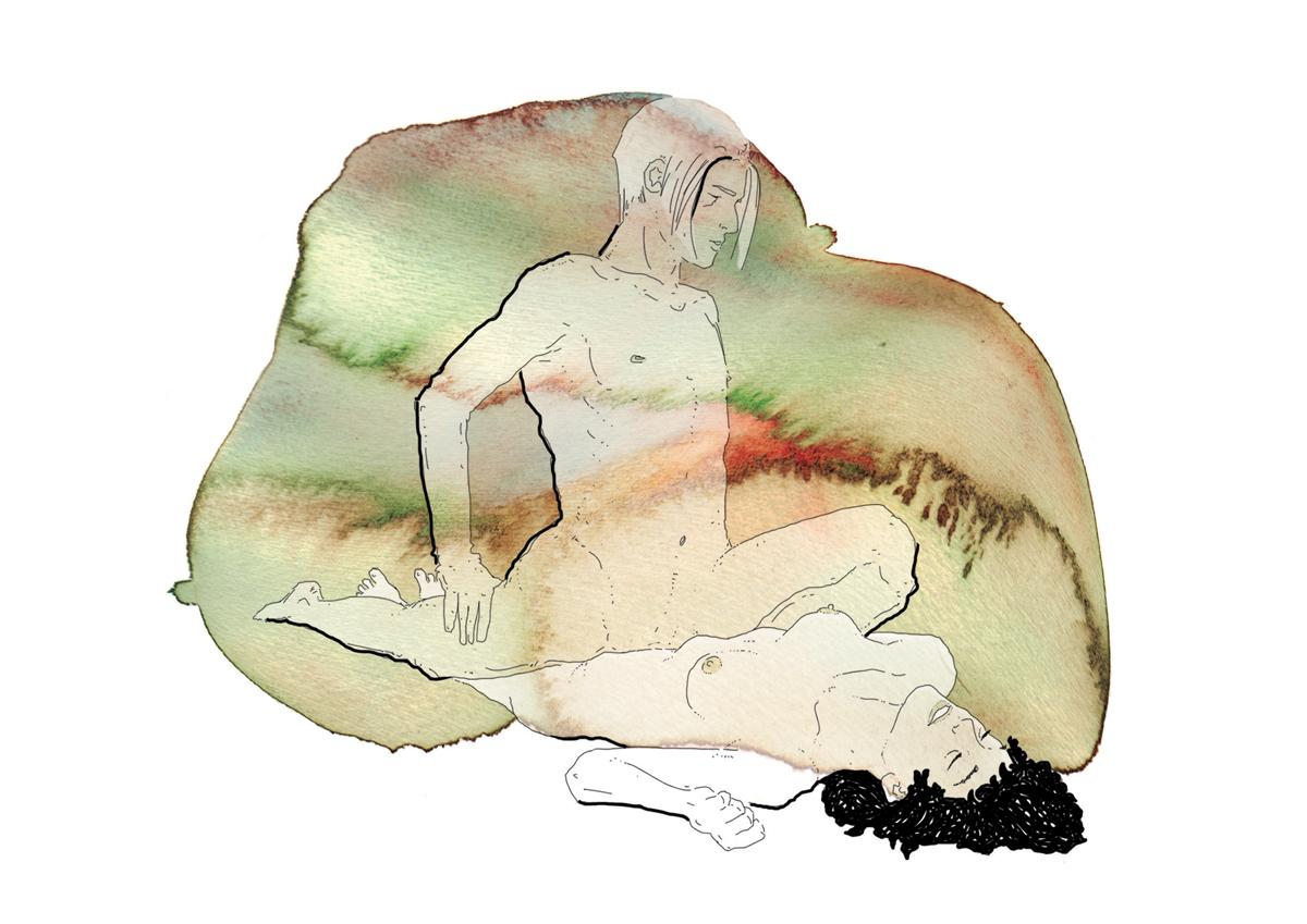 20-correre-running-training-allenamento-runner-sesso-adulti-illustrazione-illustrations-fabio-delvo-delvox-acquerelli-watercolors-dulcis in affundo