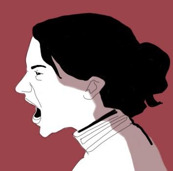 angry-rabbia-urlo-icone-icons-applicazione-ospedale-donne-women-sentimenti-umori-sensazioni-salute-fabio delvo-illustrations-delvox-digital-donne