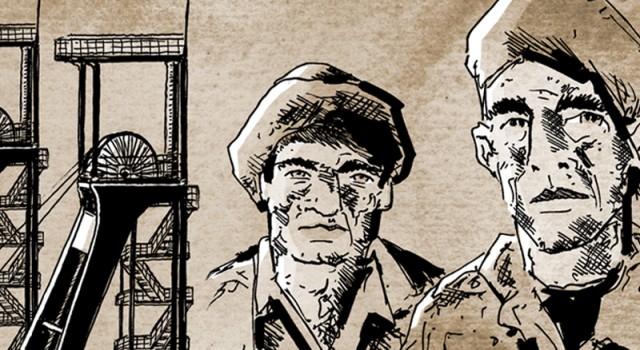 Graphic Novel – La Lettura – Corriere della Sera – LA CLASSE OPERAIA VA SOTTOTERRA