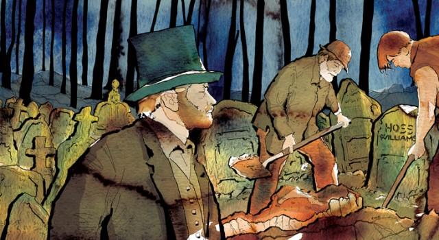 the-adventures-of-tom-sawyer-al-cimitero-deagostini-tom-sawyer-illustrations-acquerelli-illustrazioni-watercolors-fabio-delvo-delvox