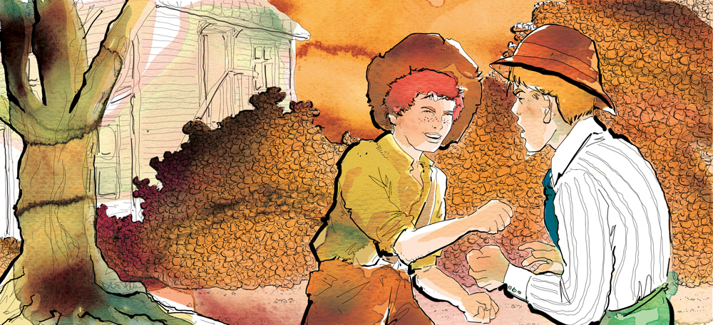 the-adventures-of-tom-sawyer-il-litigio-deagostini-tom-sawyer-illustrations-acquerelli-illustrazioni-watercolors-fabio-delvo-delvox