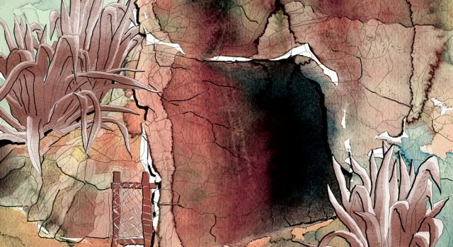 the-adventures-of-tom-sawyer-la-grotta-deagostini-tom-sawyer-illustrations-acquerelli-illustrazioni-watercolors-fabio-delvo-delvox