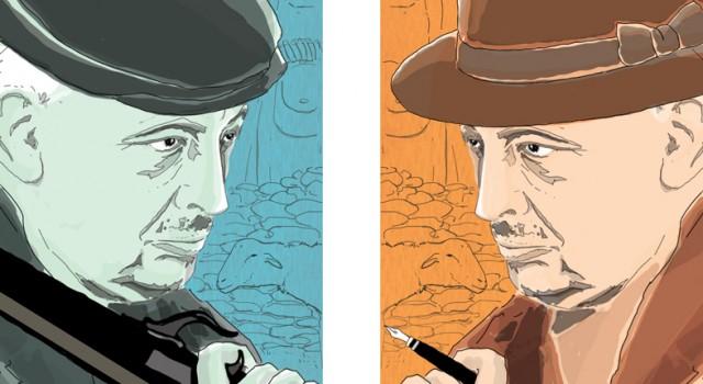 tomasi-di-lampedusa-il-gattopardo-sicilia-mafia-illustrazione-watercolors-illustrations-acquerello-corriere-della-sera-la-lettura-fabio-delvo-delvox