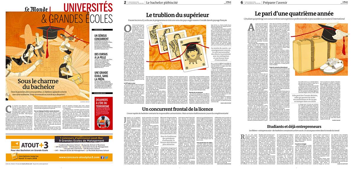 bachelor-universite-grandes-ecoles-charme-le-monde-france-newspaper-publishing-illustrazione-illustrations-fabio-delvo-delvox-supplement-jeudi-15-fevrier-2018