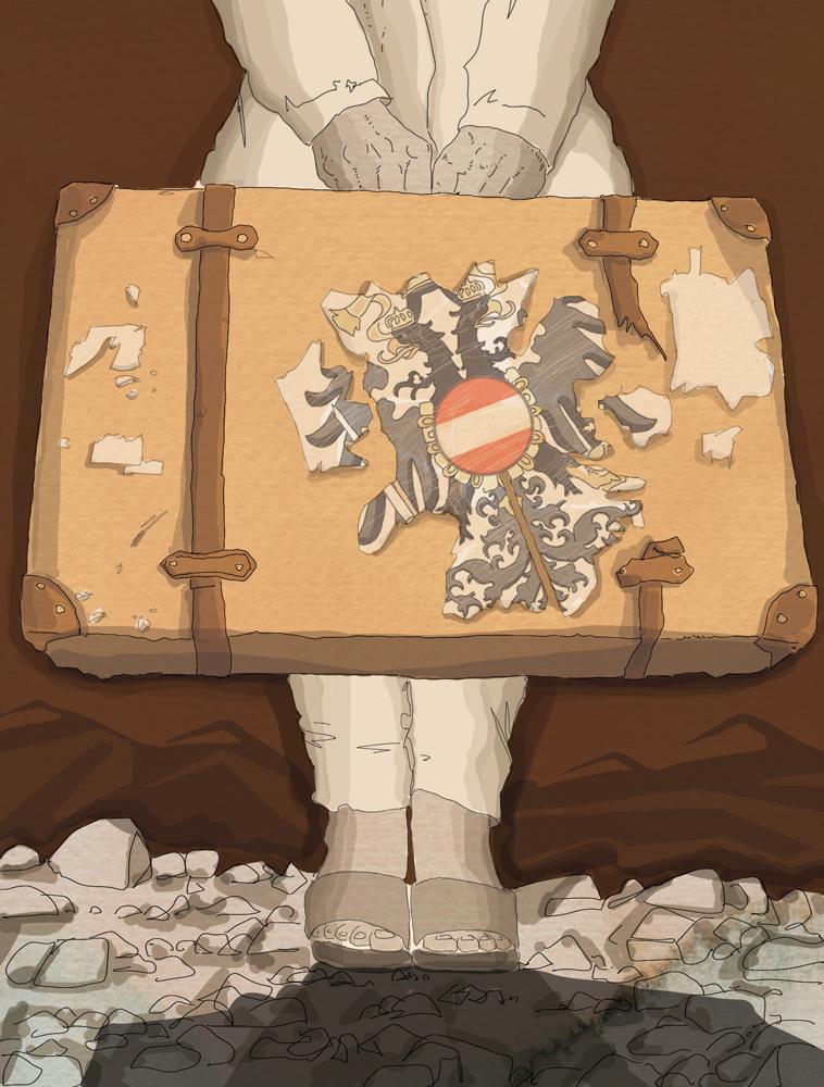 brennero-immigrazione-immigrati-austria-la-stampa-newspaper-editoriale-fabio-delvo-delvox-illustrations-illustrazioni-publishing