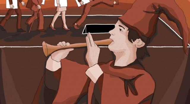 votazioni-protesta-elezioni-italia-scetticismo-elettori-dovere-la-stampa-newspaper-editoriale-fabio-delvo-delvox-illustrations-illustrazioni-publishing