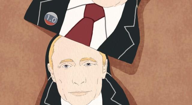 russia-elezioni-putin-rielezione-matrioska-politica-la-stampa-newspaper-editoriale-fabio-delvo-delvox-illustrations-illustrazioni-publishing