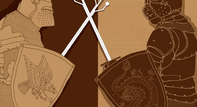 duello-usa-stati-uniti-cina-intelligenza-artificiale-ai-informatica-politica-la-stampa-newspaper-editoriale-fabio-delvo-delvox-illustrations-illustrazioni-publishing