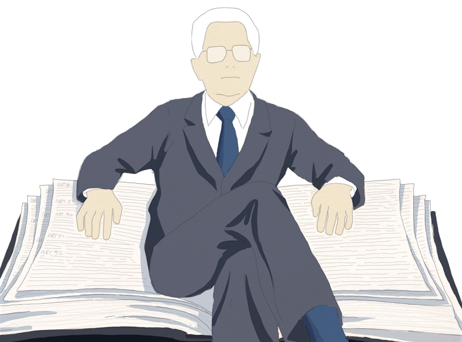 mattarella-presidente-repubblica-garante-costituzione-italia-politica-la-stampa-newspaper-editoriale-fabio-delvo-delvox-illustrations-illustrazioni-publishing