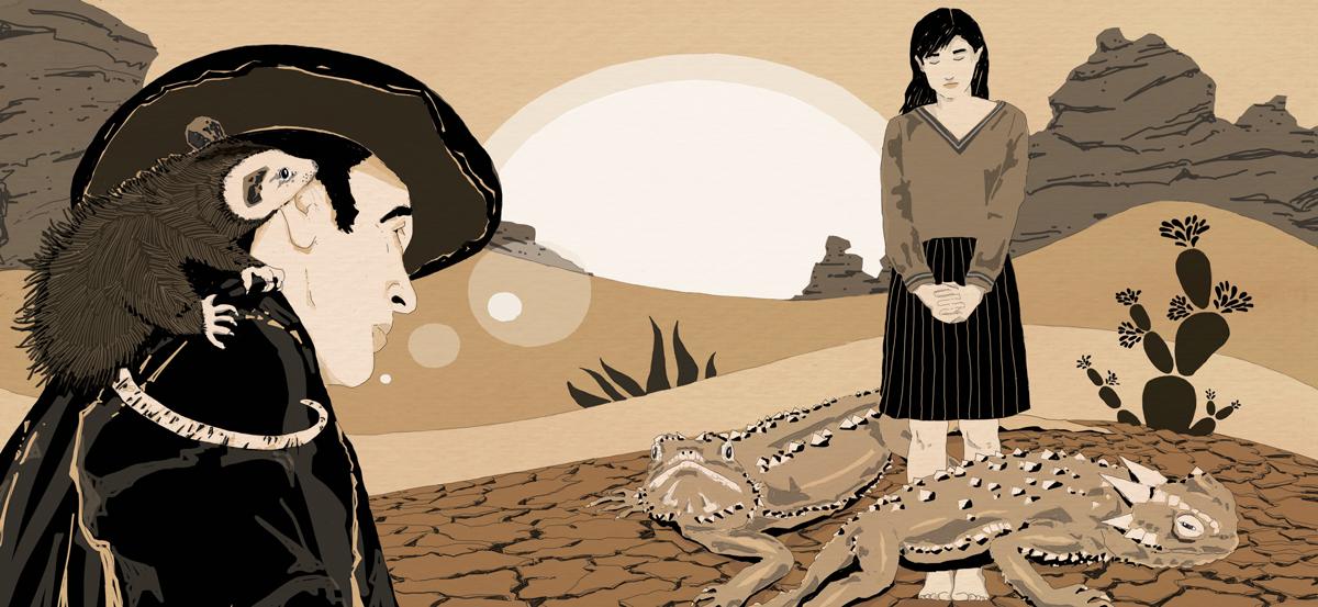 feral-detective-jonathan-lethem-noir-deserto-libri-california-scomparsa-books-illustrazione-illustrations-corriere-della-sera-la-lettura-fabio-delvo-delvox