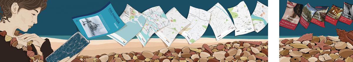 guide-turistiche-letteratura-cultura-viaggi-libri-percorsi-mappe-books-illustrazione-illustrations-corriere-della-sera-la-lettura-fabio-delvo-delvox-intero
