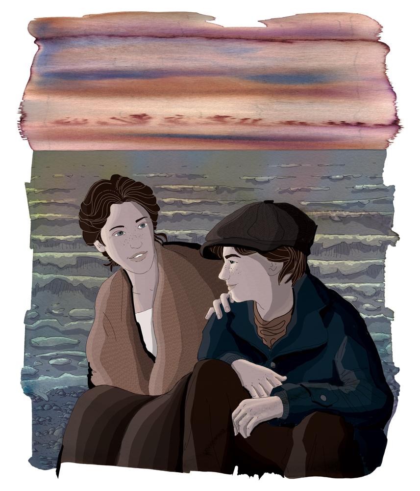 devo-scegliere-chi-sognera-per-me-rrose-selavy-jack-london-buch-spiaggia-libro-illustrato-illustrated-book-illustrations-illustrazioni-acquerello-watercolors-fabio-delvo-delvox-publishing