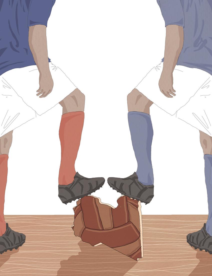 votazioni-libia-italia-francia-divisione-politica-la-stampa-newspaper-editoriale-fabio-delvo-delvox-illustrations-illustrazioni-publishing