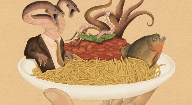 populismo-idra-italia-saviano-governo-politica-bhl-bernard-henry-levy-politica-la-stampa-newspaper-editoriale-fabio-delvo-delvox-illustrations-illustrazioni-publishing
