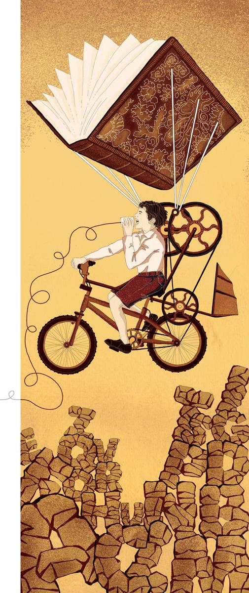 ventuno-verbi-xxi-secolo-bookcity-milano-verbo-significato-scuola-studenti-libri-books-illustrazione-illustrations-corriere-della-sera-la-lettura-fabio-delvo-delvox