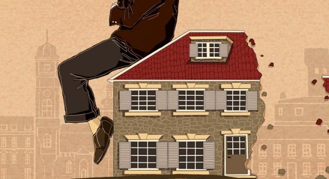 il-vicino-croazia-europa-guerra-indifferenza-frattura-casa-abbandono-libri-books-illustrazione-illustrations-corriere-della-sera-la-lettura-fabio-delvo-delvox