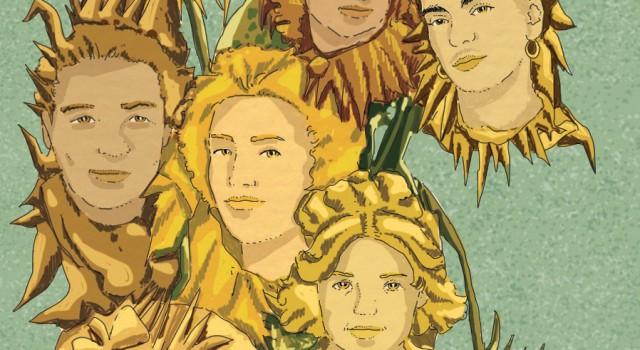 girasoli-pennelli-pittrici-donne-coraggio-liberta-artiste-libri-books-illustrazione-concettuale-conceptual-illustrations-corriere-della-sera-la-lettura-fabio-delvo-delvox