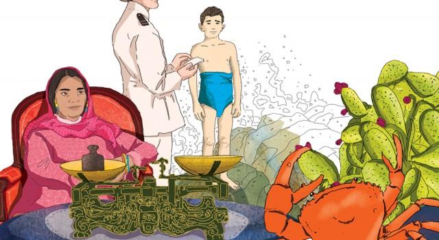 racconti-realismo-sociale-apertura-sezione-letteratura-analisi-testo-zanichelli-mappe-tesori-antologia-scolastica-illustrazioni-illustrations-fabio-delvo-delvox