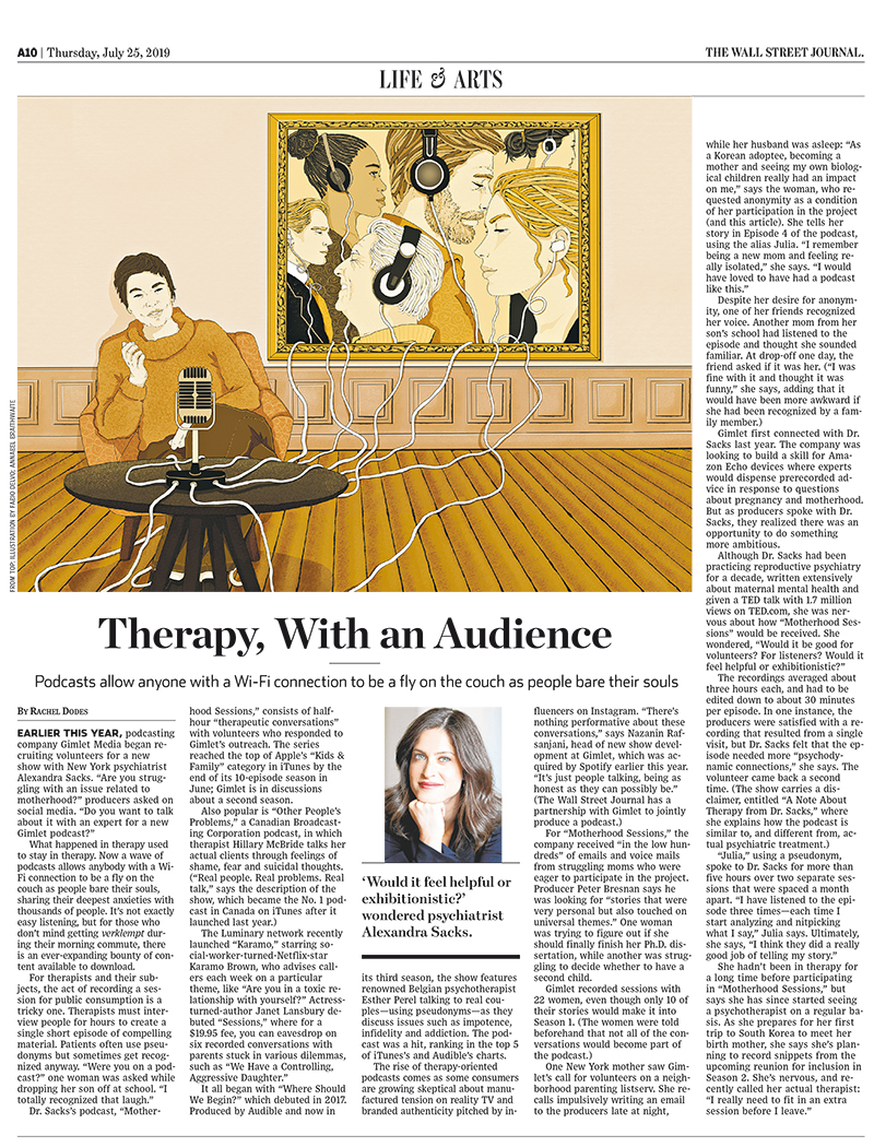 audio-therapy-audience-connection-wifi-podcast-psychotherapy-mindfullness-wsj-wall-street-journal-lifearts-publishing-newspaper-fabio-delvo-delvox-conceptual-illustration-illustrations-page