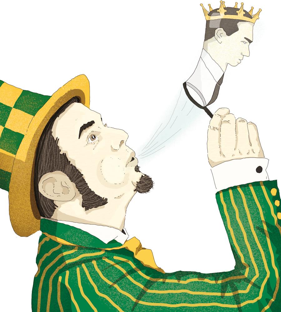 populismo-sovranismo-governo-gialloverde-politica-la-stampa-newspaper-editoriale-fabio-delvo-delvox-conceptual-illustrations-illustrazioni-concettuali-concettuale-publishing