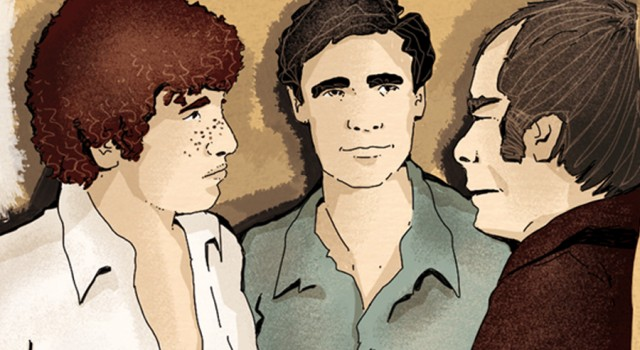 ragazzi-di-vita-pasolini-riccetto-roma-classico-fumetto-comics-fumetti-libri-classici-graphic-novel-tuttolibri-la-stampa-newspaper-fabio-delvo-delvox-illustrations-illustrazioni-publishing