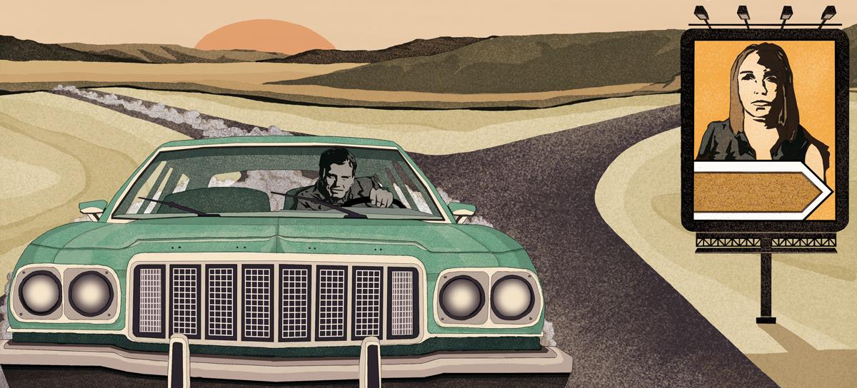 strada-sbagliata-dennis-lehane-racconto-libri-books-illustrazione-concettuale-conceptual-illustrations-corriere-della-sera-la-lettura-fabio-delvo-delvox-publishing