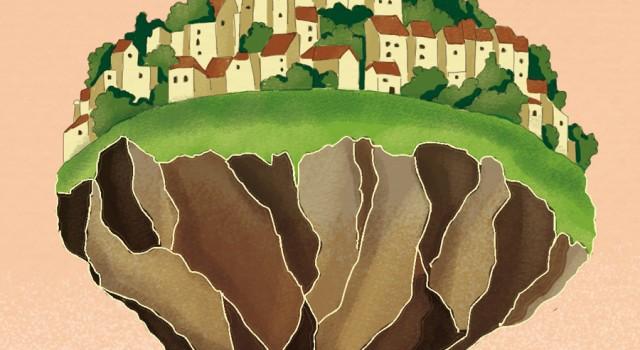 innovare-salvare-pianeta-ambiente-surriscaldamento-politica-la-stampa-newspaper-editoriale-fabio-delvo-delvox-conceptual-illustrations-illustrazioni-concettuali-concettuale-publishing