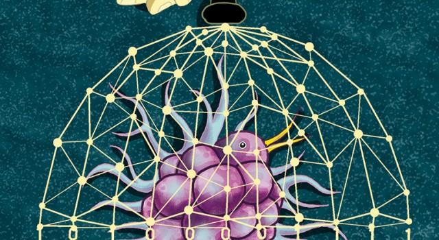 big-data-contagio-virus-covid-coronavirus-tecnologia-cina-pechino-politica-la-stampa-newspaper-editoriale-fabio-delvo-delvox-conceptual-illustrations-illustrazioni-concettuali-concettuale-publishing