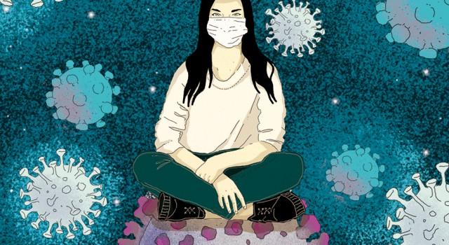 italia-coronavirus-coesistenza-covid-pandemia-politica-inedita-fabio-delvo-delvox-conceptual-illustrations-illustrazioni-concettuali-illustrazione-concettuale-publishing