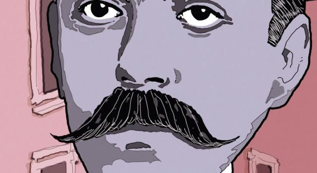 italo-svevo-coscienza-zeno-trieste-narodni-dom-fascismo-slovenia-nazionalismo-letteratura-libri-corriere-della-sera-la-lettura-illustrazione-illustrations-conceptual-concettuale-fabio-delvo-delvox