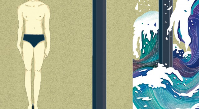 pontiggia-narrativa-tuffatore-scrivere-nuotare-mare-letteratura-corriere-della-sera-la-lettura-illustrazione-illustrations-conceptual-concettuale-fabio-delvo-delvox-publishing-book