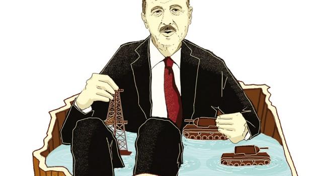 turchia-erdogan-maghreb-libia-politica-la-stampa-newspaper-editoriale-fabio-delvo-delvox-conceptual-illustrations-illustrazioni-concettuali-concettuale-publishing
