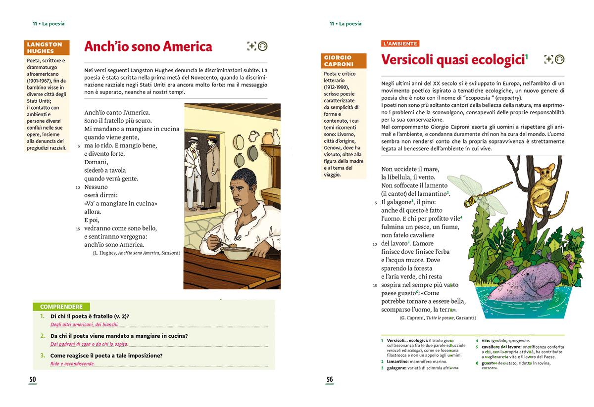 unita-11-poesia-compagni-di-viaggio-loescher-antologia-scuola-media-america-ambiente-illustrazioni-illustrations-scolastica-fabio-delvo-delvox