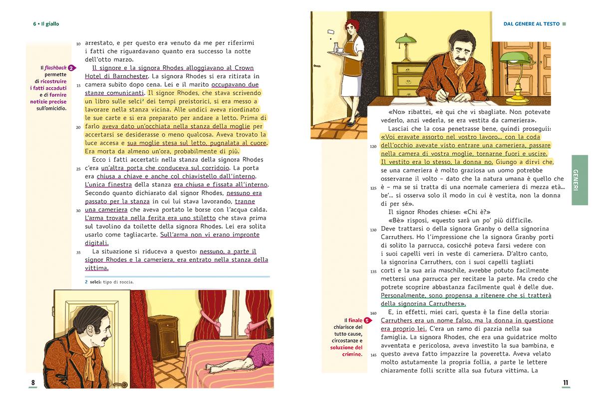 unita-6-giallo-compagni-di-viaggio-loescher-antologia-scuola-media-illustrazioni-illustrations-scolastica-fabio-delvo-delvox