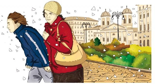 unita-7-diario-autobiografia-lettura-compagni-di-viaggio-loescher-antologia-scuola-media-bora-trieste-illustrazioni-illustrations-scolastica-fabio-delvo-delvox