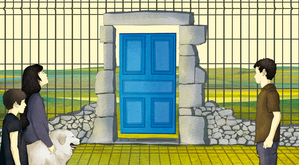 ammaniti-paura-anna-bambini-lockdown-letteratura-corriere-della-sera-la-lettura-illustrazione-illustrations-conceptual-concettuale-fabio-delvo-delvox-publishing-book