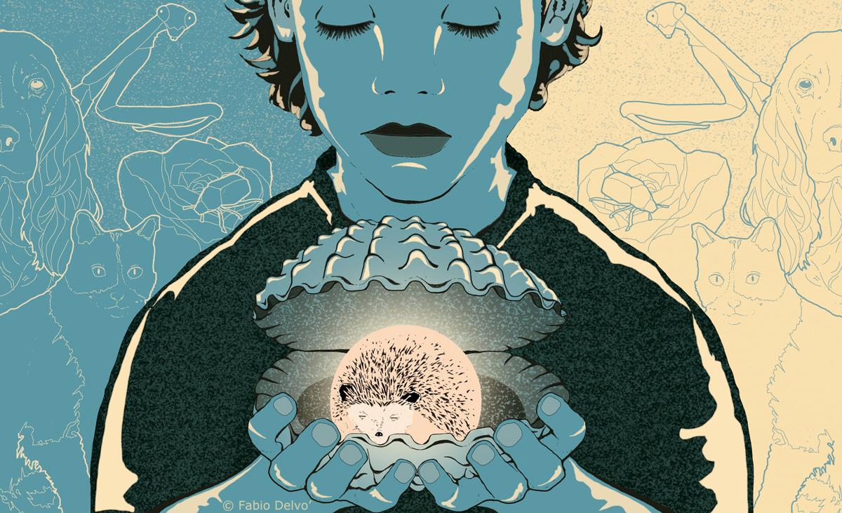 sandro-veronesi-ricordo-memoria-riccio-ferita-libro-romanzo-racconto-books-ferite-letteratura-corriere-della-sera-la-lettura-illustrazione-illustrations-conceptual-concettuale-fabio-delvo-delvox